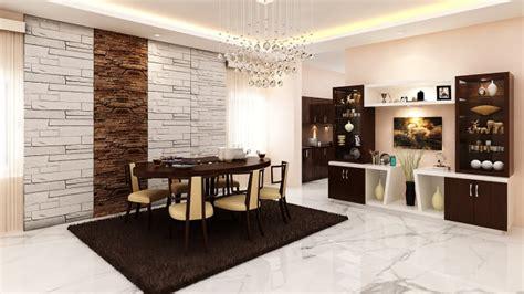 modern dining hall  classic furniture  modern