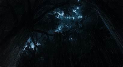 Dark Anime Scenery Fantasy Landscape Rain Favim