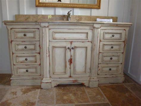 Distressed Bathroom Cabinets by 12 Best Distressed Bathroom Vanities Images On