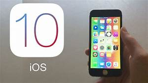 iOS 10 is finally here