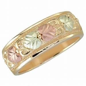 10K Black Hills Gold Wedding Ring BlackHillsGoldDirect
