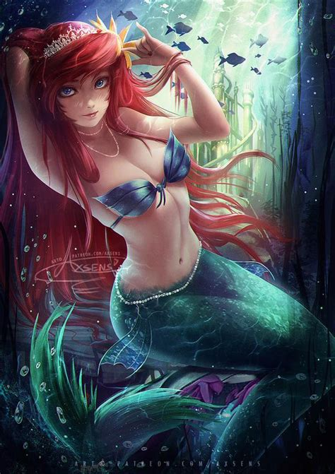 Fairy Tales: Little Mermaid by Axsens on DeviantArt The