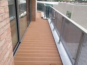 Terrasse Lame Composite : lames terrasse composite ocewood optima corail ~ Edinachiropracticcenter.com Idées de Décoration