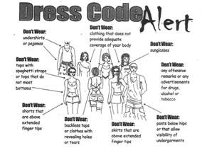 decoding school dress codes march for public education