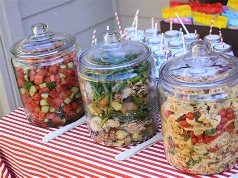 dejeuner au jardin pour presenter les salades recettes