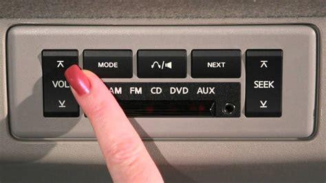Nissan Titan Rear Audio Controls Youtube