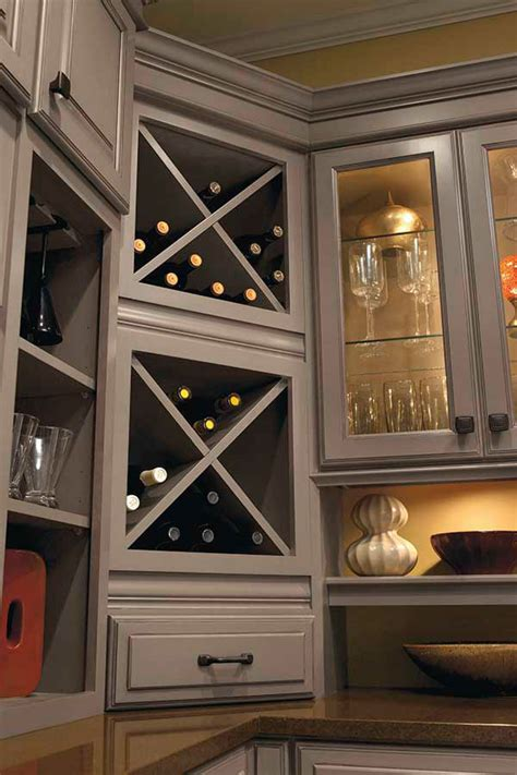 wine storage cabinet schrock cabinetry