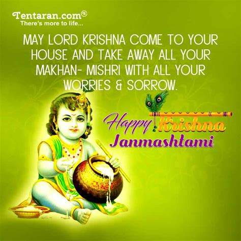 happy janmashtami quotes  english janmashtami images