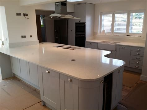quartz white mirror worktop search kitchen