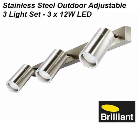 led stainless steel outdoor adjustable exterior wall light
