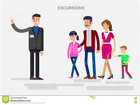 travel bureau car family on excursion in summer royalty free stock