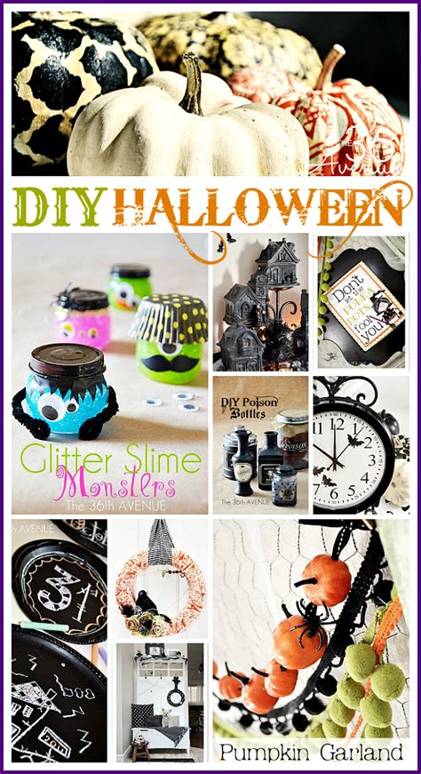 Halloween Crafts And Decor  The 36th Avenue