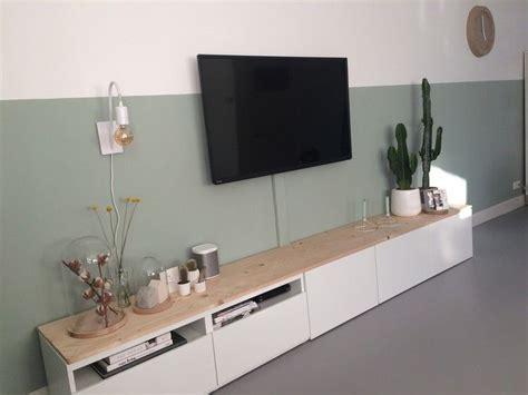 eiken planken ikea besta tv meubel ikea met eiken planken erop en ruimte