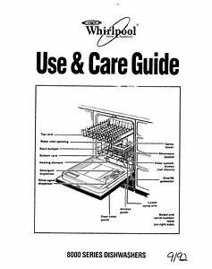 Whirlpool Dishwasher 8000 Series User Guide