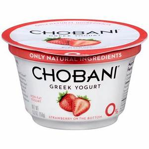 Chobani Greek Yogurt Barcode images