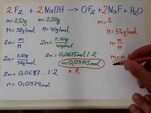 Chemie Molare Masse Berechnen : quantitative ausbeuten begrenzender reaktand einf hrung mit beispiel youtube ~ Themetempest.com Abrechnung