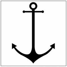 Simple Anchor Outline - ClipArt Best