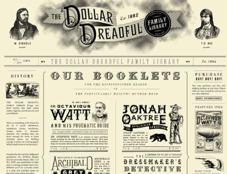 retro  vintage style inspired website designs urbanist