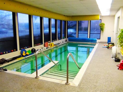 Heated Indoor Salt Water Pool (temperature Remains A