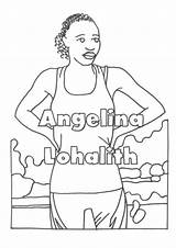 Riverdale Colouring Flipsnack Abba Refugee Olympic Team sketch template