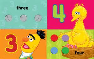 Sesame Street Count with Elmo Book