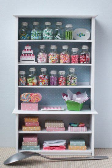 candy shop shelf lollipops chocolate