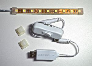 3 led complete kit w usb adapter ecoluxlighting