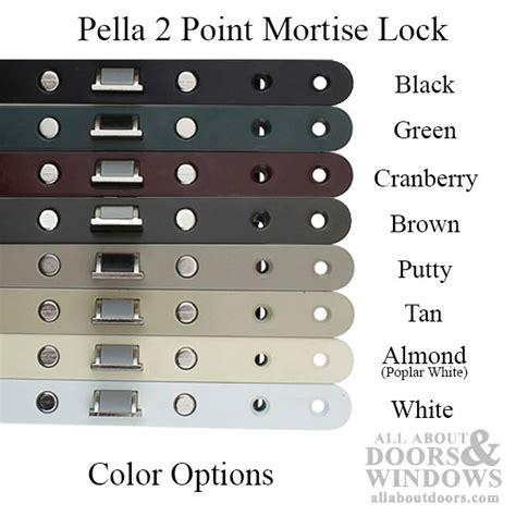 pella storm door lock replacement lock set  storm door