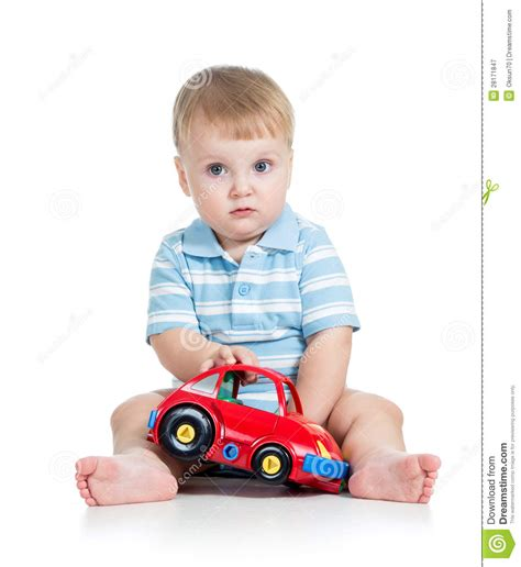 kid play car baby boy playing with toy car stock image image 28171847