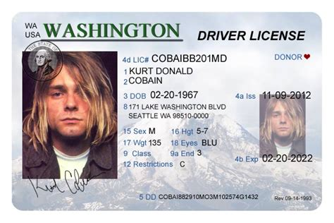 drivers license template psd washington driver s license editable psd template 5 00 scrappng digital craft