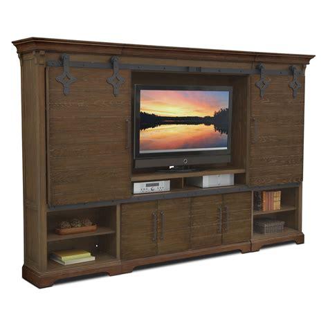 saginaw on wall units furniture union city 4 pc entertainment wall unit