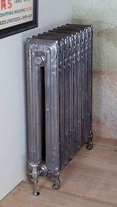 The Scroll 845mm Tall Cast Iron Radiator 9 Sections Long