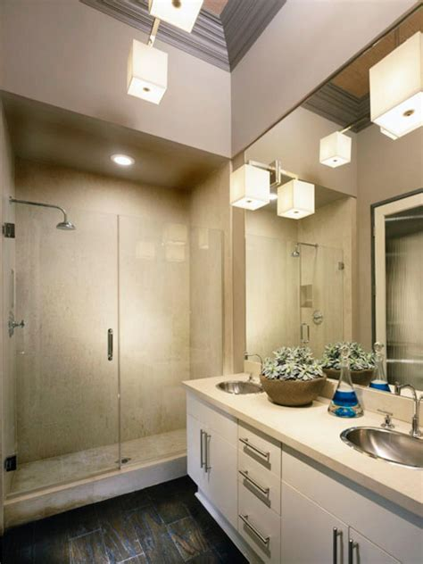 modern narrow bathroom guest bathrooms spare ideas master