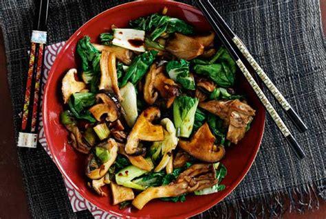 slimming worlds oriental mushroom stir fry recipe