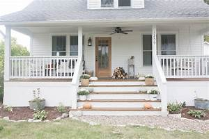 Fall Farmhouse Front Porch Farmhouse On Boone