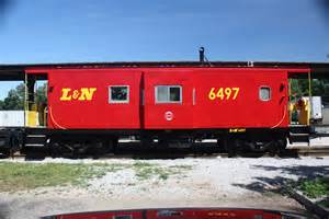 the l n caboose historic railpark museum