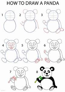 How To Draw A Panda Step By Step Drawing Tutorial With