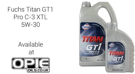 fuchs titan gt1 pro c 3 5w 30 fuchs titan gt1 pro c 3 xtl 5w 30 at opie oils opie oils in the uk