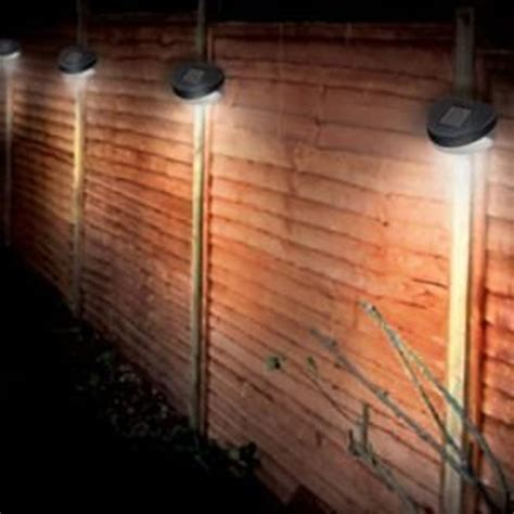 solar fence light on sale fast delivery greenfingers