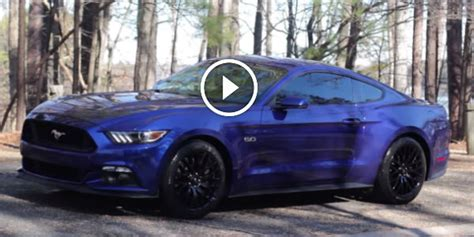 awesome review   brand spankin   mustang gt
