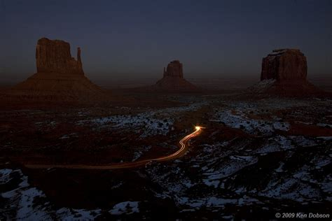 monument valley night dobson central photography