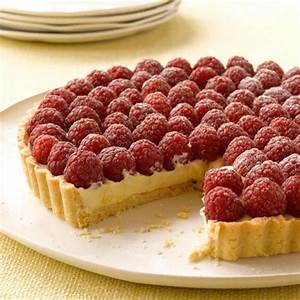 White Chocolate and Raspberry Tart - Good Housekeeping