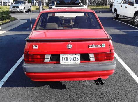 Alfa Romeo Verde For Sale by 1987 Alfa Romeo Verde Classic Italian Cars For Sale