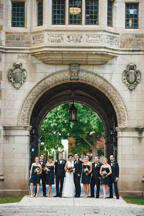 sophisticated classic wedding   university