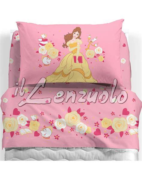 Lenzuola Letto Singolo Disney by Completo Lenzuola Disney Letto Singolo In Cotone Di