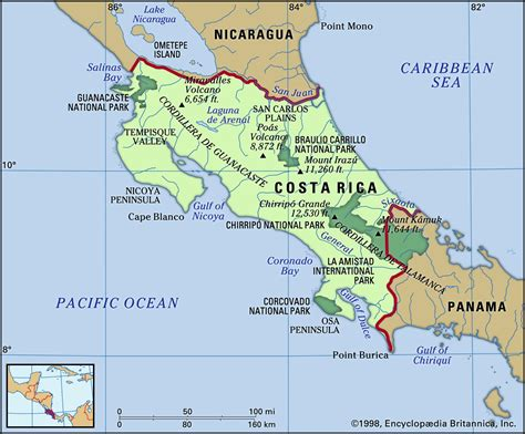Is Geographical Location by Costa Rica Location Geography Culture Economy