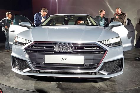 new 2018 audi a7 sportback debuts with hybrid tech all engines auto express