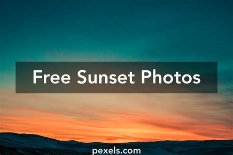 Sunset Pictures · Pexels · Free Stock Photos