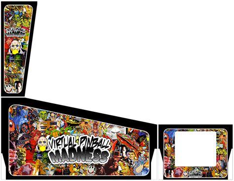 pinball cabinet artwork cabinet artwork i created page 26 pinball
