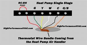 Stage Heat Pump Thermostat Wiring Diagram